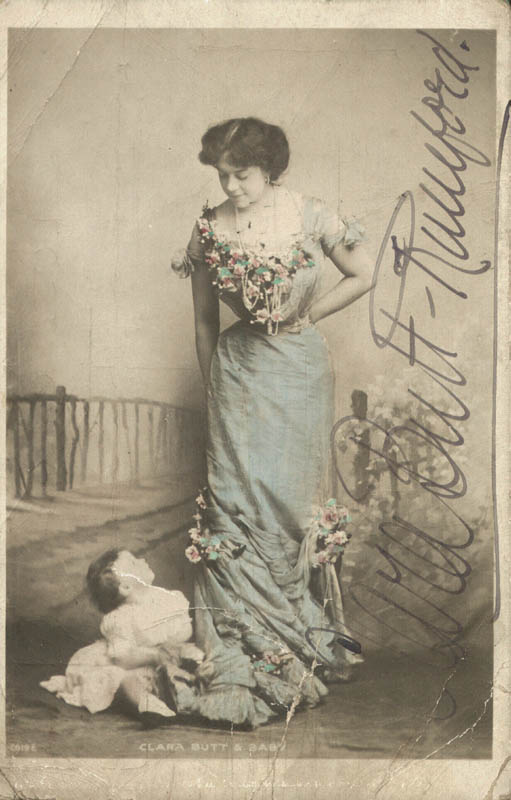 Image 1 for Dame Clara Ellen Butt - Picture Post Card Signed - HFSID 156136