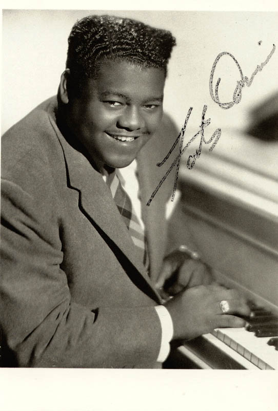 Image 1 for Fats Domino - Autographed Signed Photograph - HFSID 156182