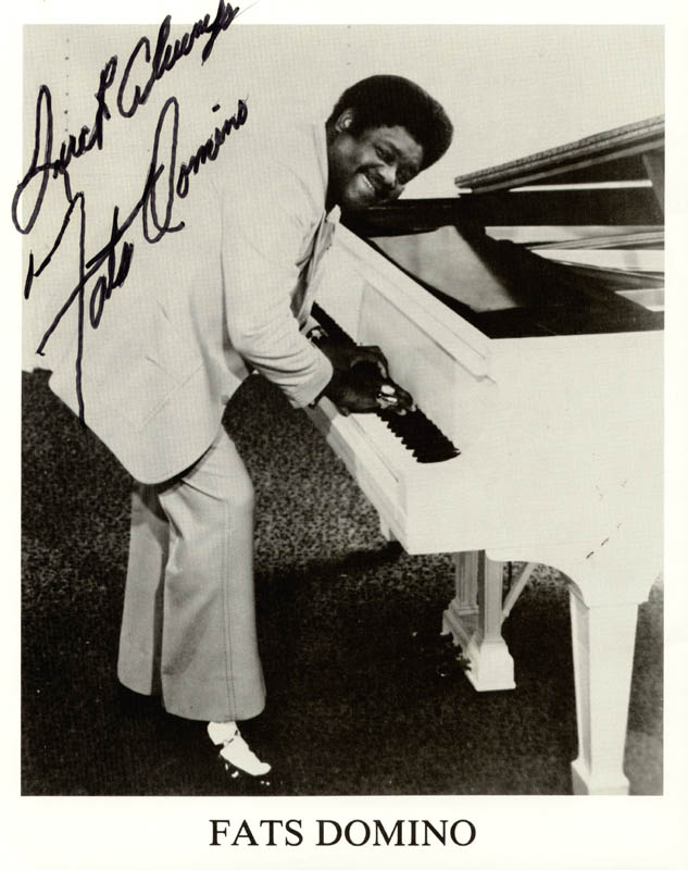 Image 1 for Fats Domino - Autographed Signed Photograph - HFSID 156248