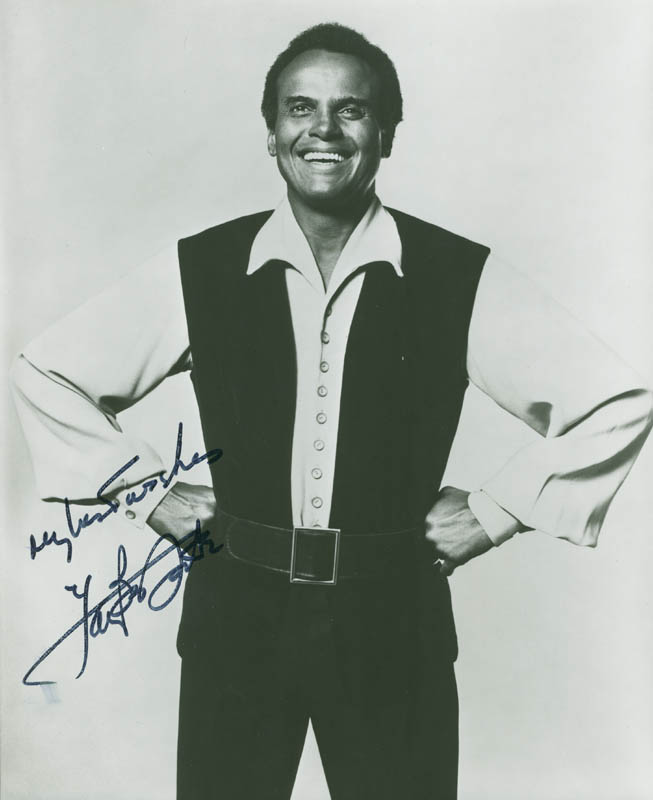 Image 1 for Harry Belafonte - Autographed Signed Photograph - HFSID 156308
