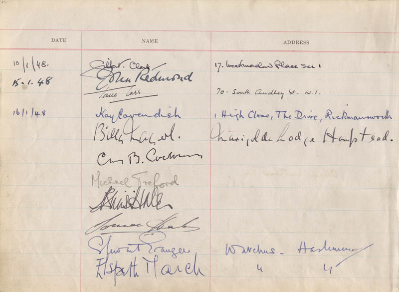 Image 3 for Ann Todd - Autograph with co-signers - HFSID 156350