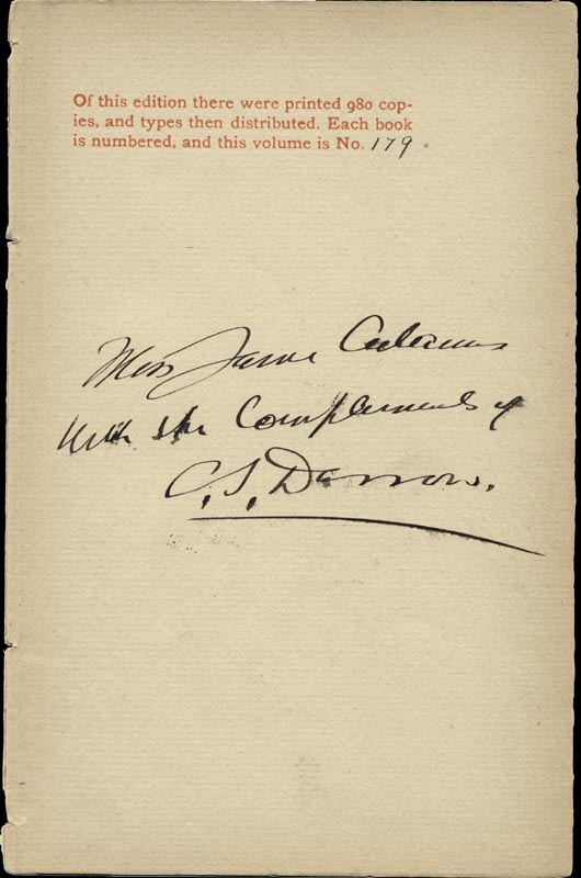 Image 1 for Clarence Darrow - Inscribed Book Page Signed - HFSID 156632