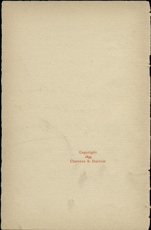 Image 4 for Clarence Darrow - Inscribed Book Page Signed - HFSID 156632