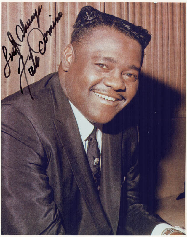 Image 1 for Fats Domino - Autographed Signed Photograph - HFSID 156668