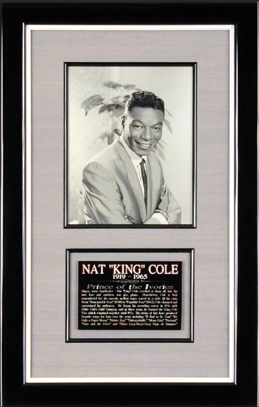 Image 1 for Nat King Cole - Autographed Inscribed Photograph - HFSID 156673
