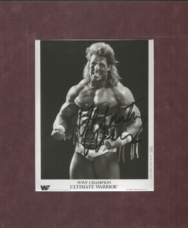 Image 1 for Ultimate Warrior - Autographed Signed Photograph - HFSID 156944