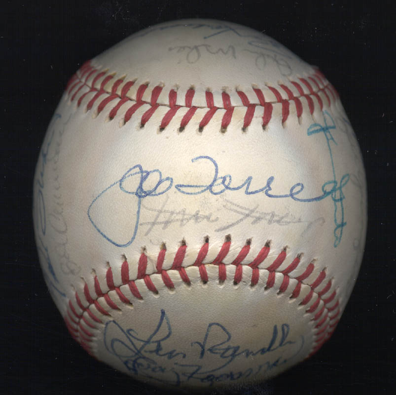Image 1 for The New York Mets - Autographed Signed Baseball Circa 1977 with co-signers - HFSID 156947