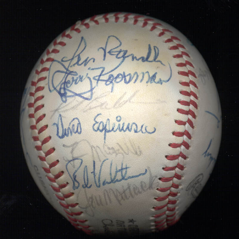 Image 5 for The New York Mets - Autographed Signed Baseball Circa 1977 with co-signers - HFSID 156947