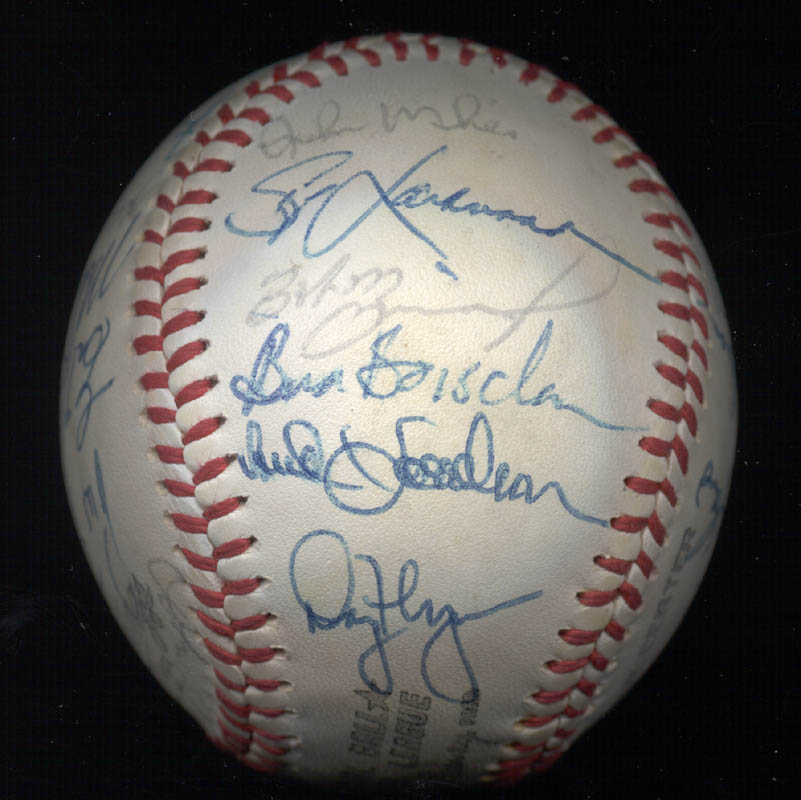 Image 6 for The New York Mets - Autographed Signed Baseball Circa 1977 with co-signers - HFSID 156947