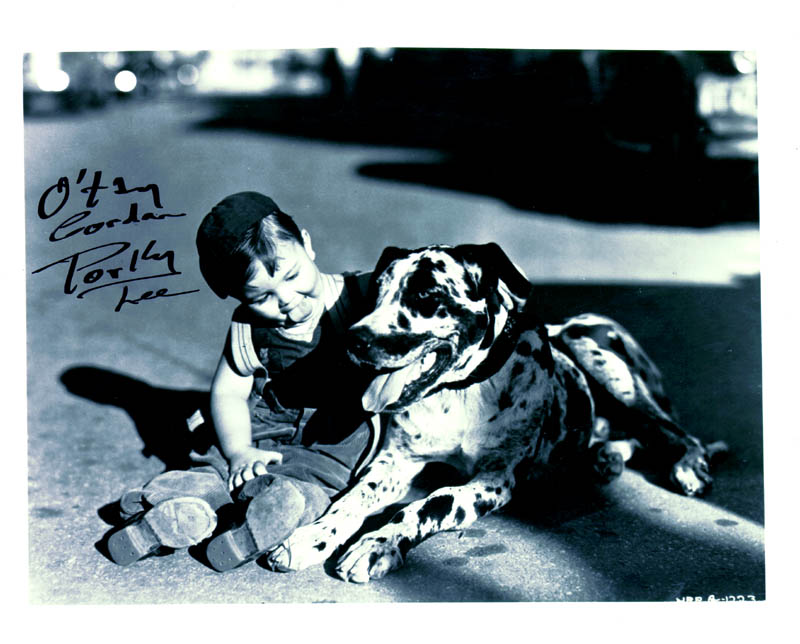Image 1 for Gordon 'Porky' Lee - Autographed Signed Photograph - HFSID 157042