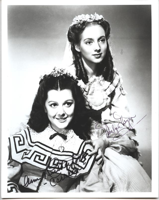 Image 1 for Gone With The Wind Movie Cast - Autographed Signed Photograph co-signed by: Ann Rutherford, Evelyn Keyes - HFSID 157094