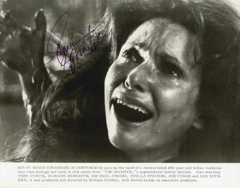 Image 1 for Susan Strasberg - Printed Photograph Signed In Ink - HFSID 157186