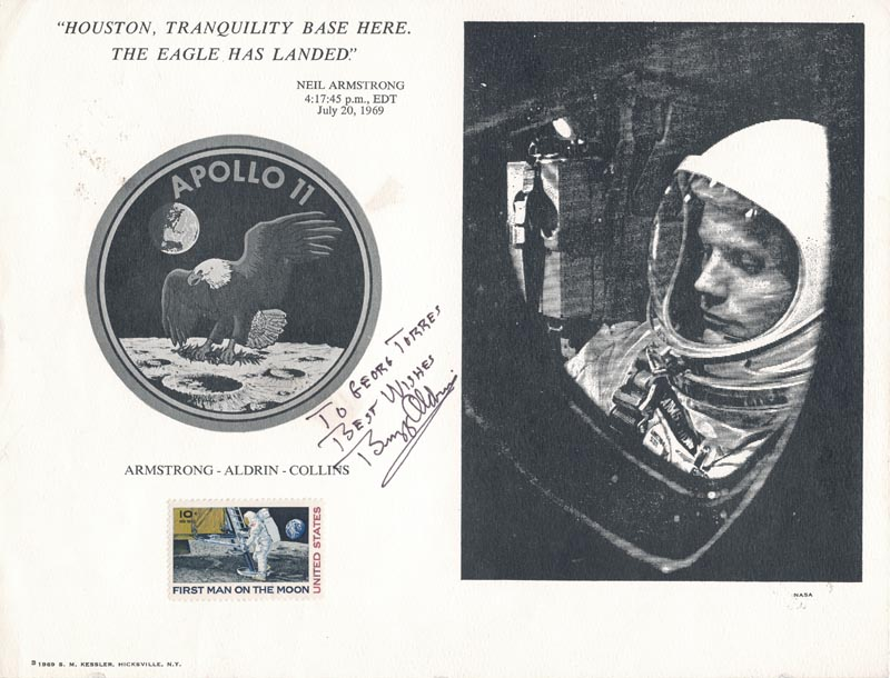 Image 1 for Colonel Buzz Aldrin - Inscribed Quotation Signed - HFSID 157233