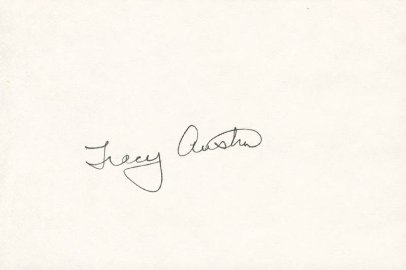 Image 1 for Tracy Austin - Autograph - HFSID 157313