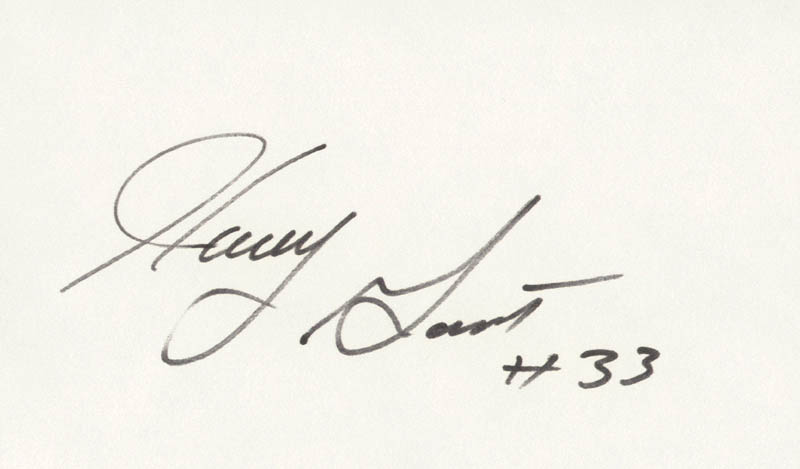 Image 1 for Harry Gant - Autograph - HFSID 157318