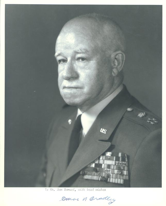 Image 1 for General Omar N. Bradley - Autographed Inscribed Photograph - HFSID 157354