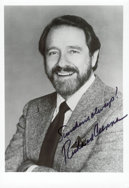 Image 1 for Richard Crenna - Autographed Signed Photograph - HFSID 15749
