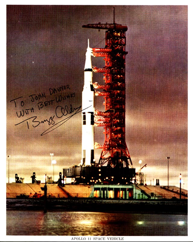 Image 1 for Colonel Buzz Aldrin - Autographed Inscribed Photograph - HFSID 157743