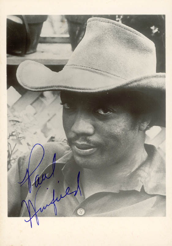 Image 1 for Paul Winfield - Autographed Signed Photograph - HFSID 15793