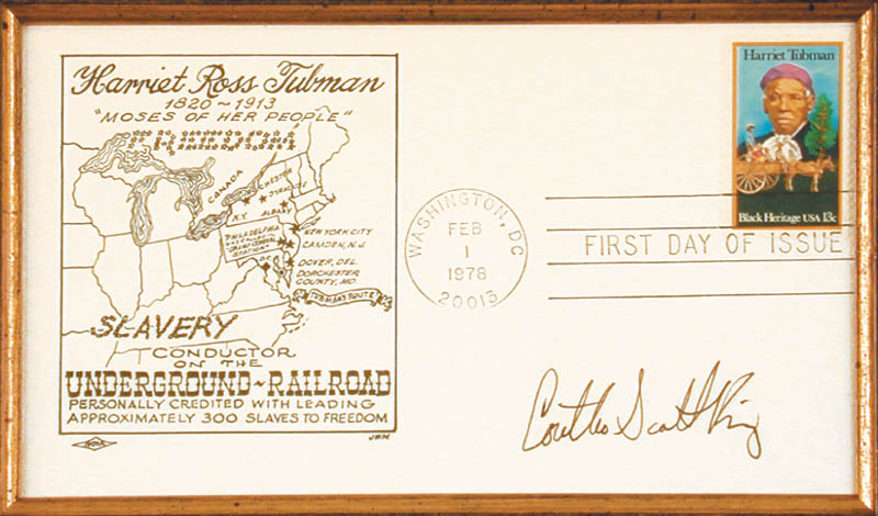 Image 3 for Coretta Scott King - First Day Cover Signed - HFSID 157997