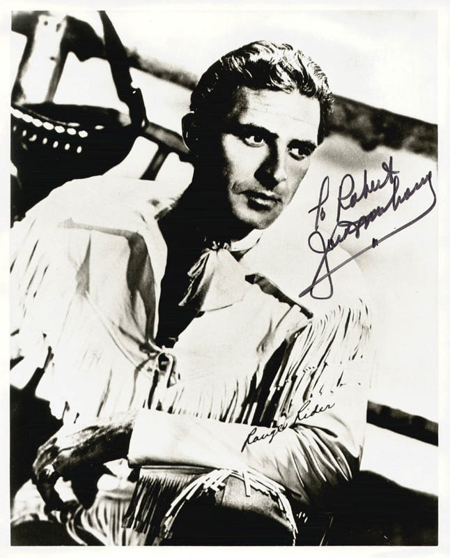 Image 1 for Jock Mahoney - Autographed Inscribed Photograph - HFSID 15818