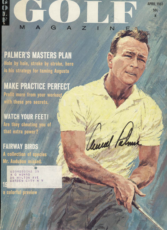Image 1 for Arnold Palmer - Magazine Cover Signed - HFSID 158246
