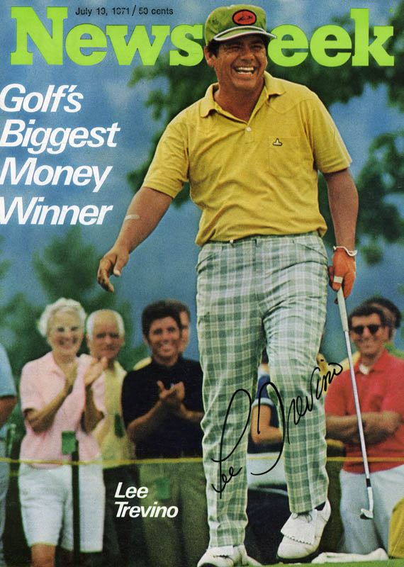 Image 1 for Lee Trevino - Magazine Cover Signed - HFSID 158280