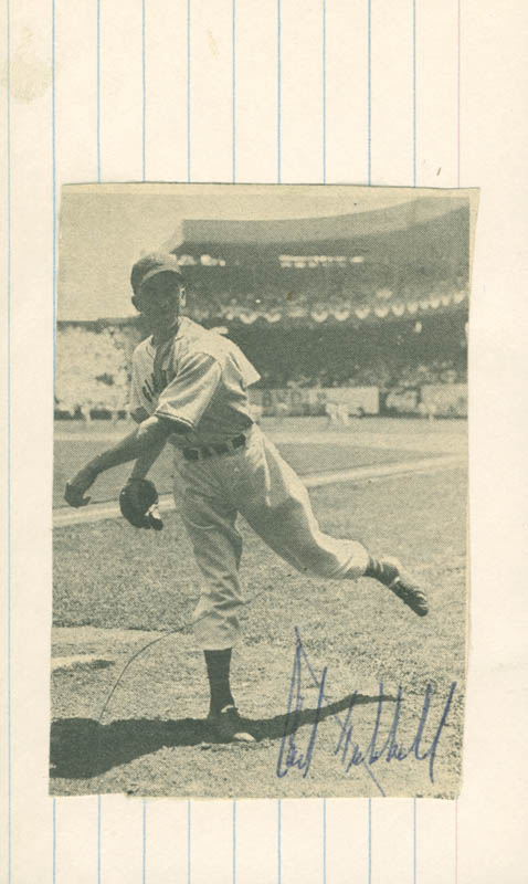 Image 1 for Carl Hubbell - Magazine Photograph Signed - HFSID 158781