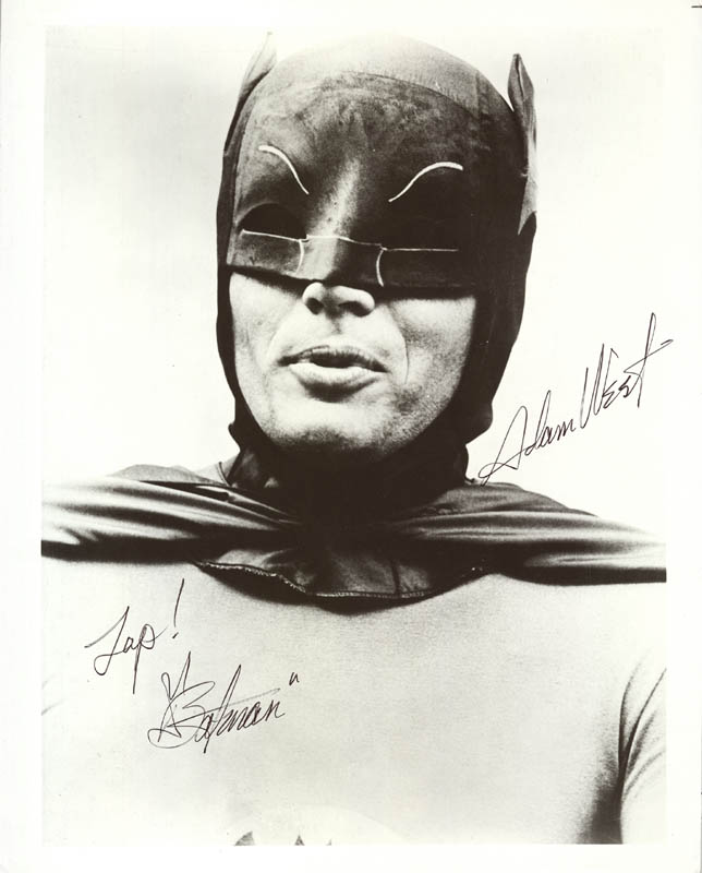 Image 1 for Adam West - Autographed Signed Photograph - HFSID 15880