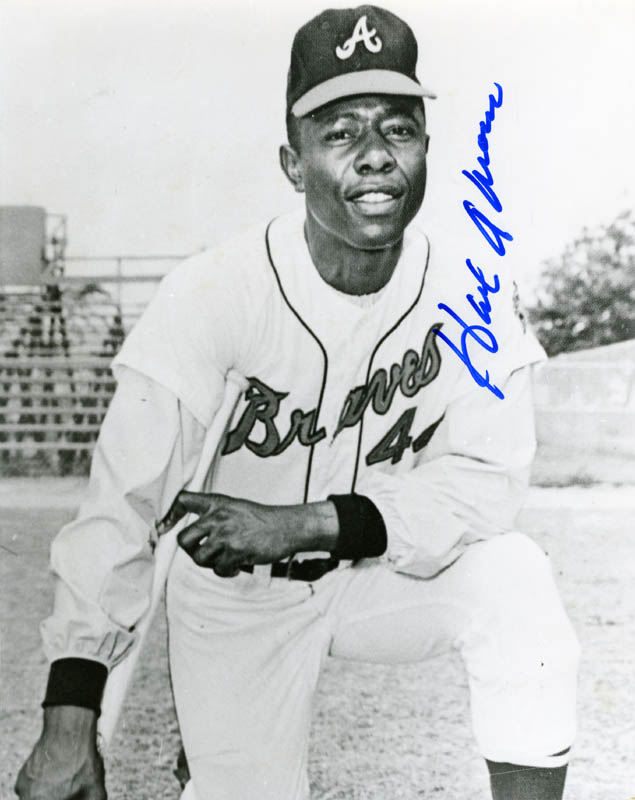Image 1 for Hank Aaron - Autographed Signed Photograph - HFSID 158922