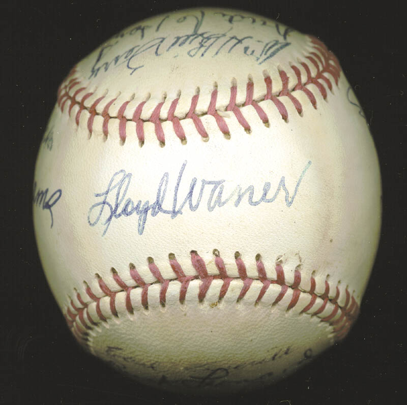 Image 3 for Hall Of Fame Baseball - Autographed Signed Baseball with co-signers - HFSID 158930