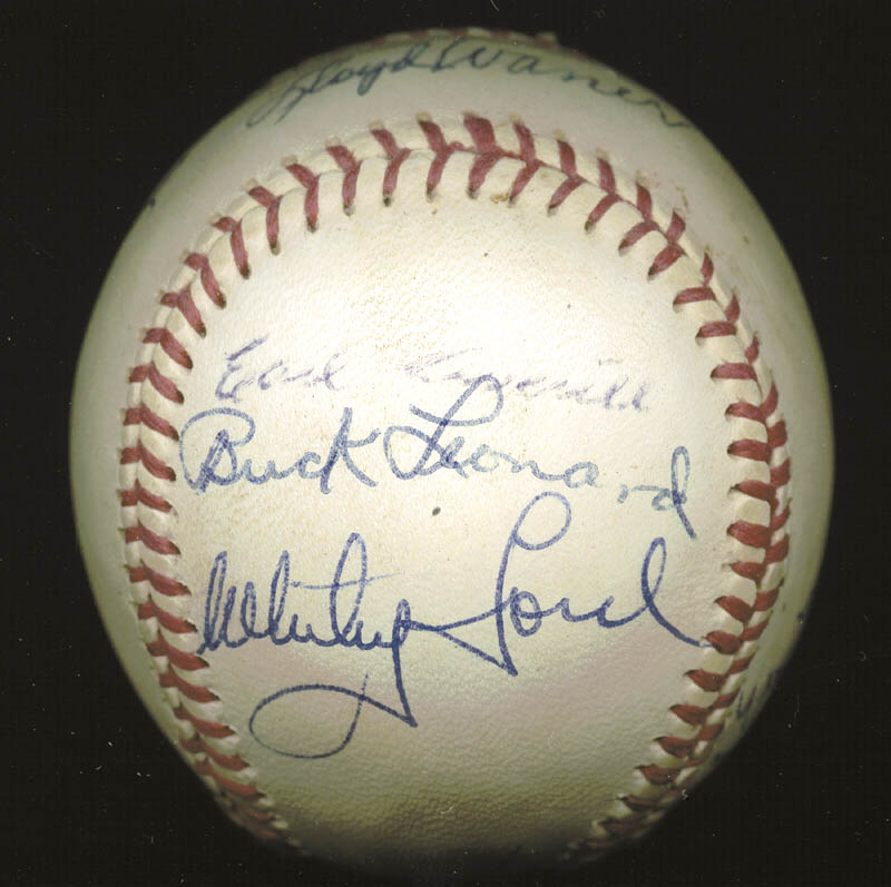 Image 5 for Hall Of Fame Baseball - Autographed Signed Baseball with co-signers - HFSID 158930