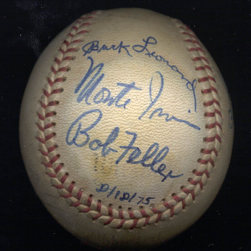 Image 1 for Hall Of Fame Baseball - Autographed Signed Baseball 08/18/1975 with co-signers - HFSID 159057