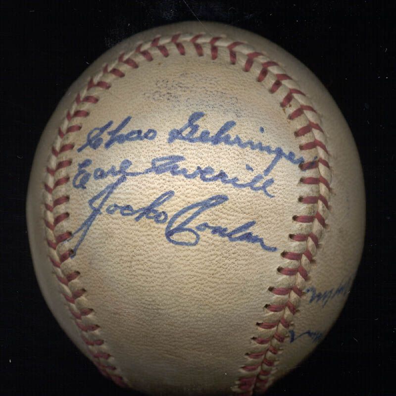 Image 3 for Hall Of Fame Baseball - Autographed Signed Baseball 08/18/1975 with co-signers - HFSID 159057
