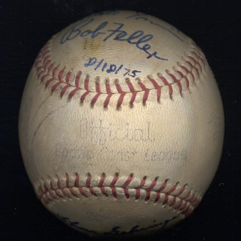 Image 5 for Hall Of Fame Baseball - Autographed Signed Baseball 08/18/1975 with co-signers - HFSID 159057