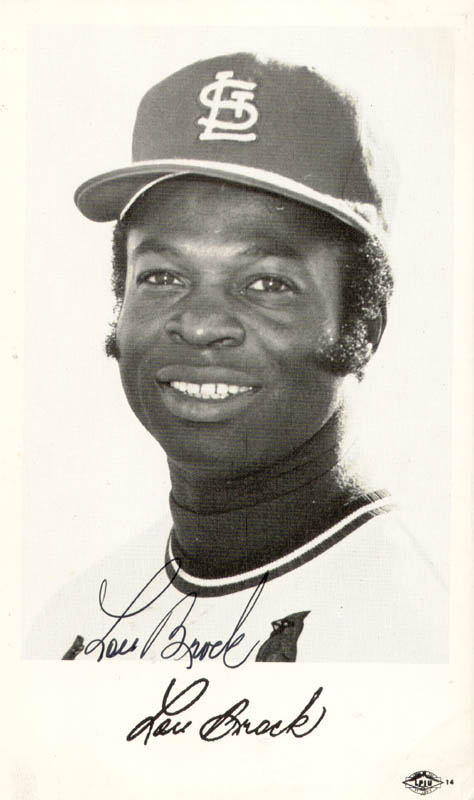 Image 1 for Lou Brock - Autographed Signed Photograph - HFSID 159089