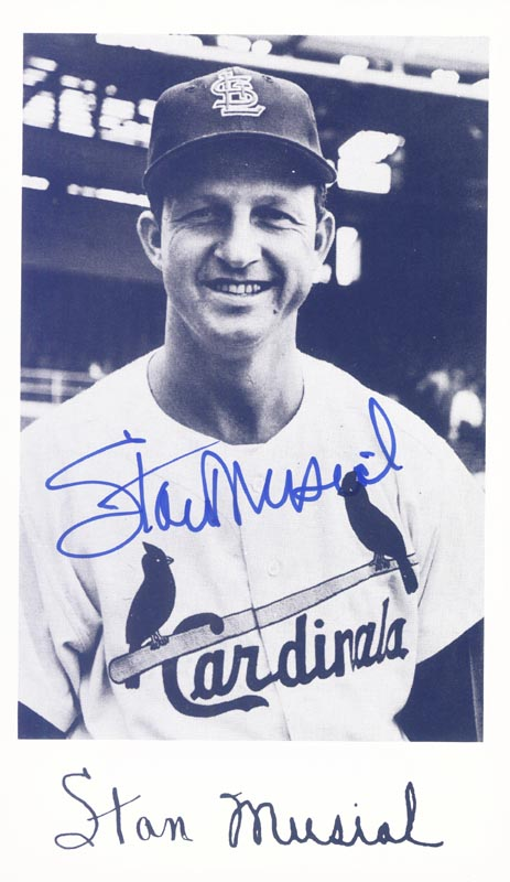 Image 1 for Stan 'The Man' Musial - Autographed Signed Photograph - HFSID 159151