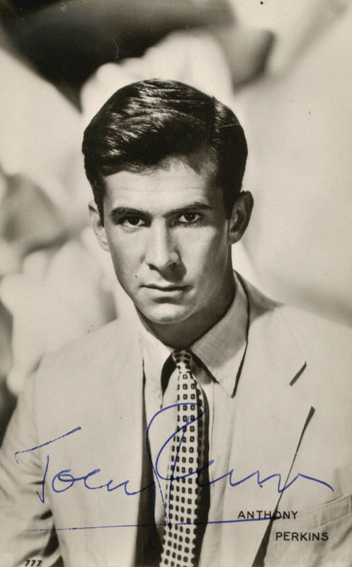Image 1 for Anthony Perkins - Picture Post Card Signed - HFSID 159227