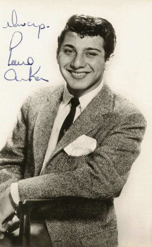 Image 1 for Paul Anka - Picture Post Card Signed - HFSID 159235