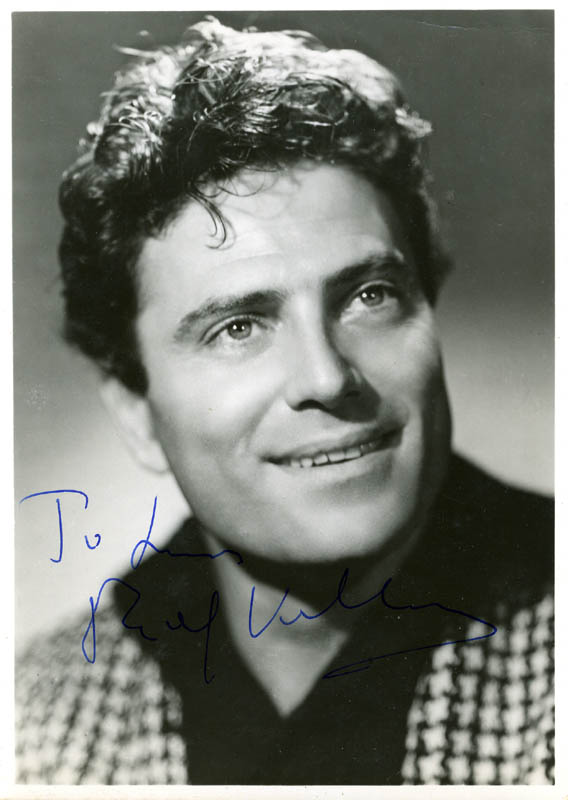 Image 1 for Raf Vallone - Autographed Inscribed Photograph - HFSID 159253