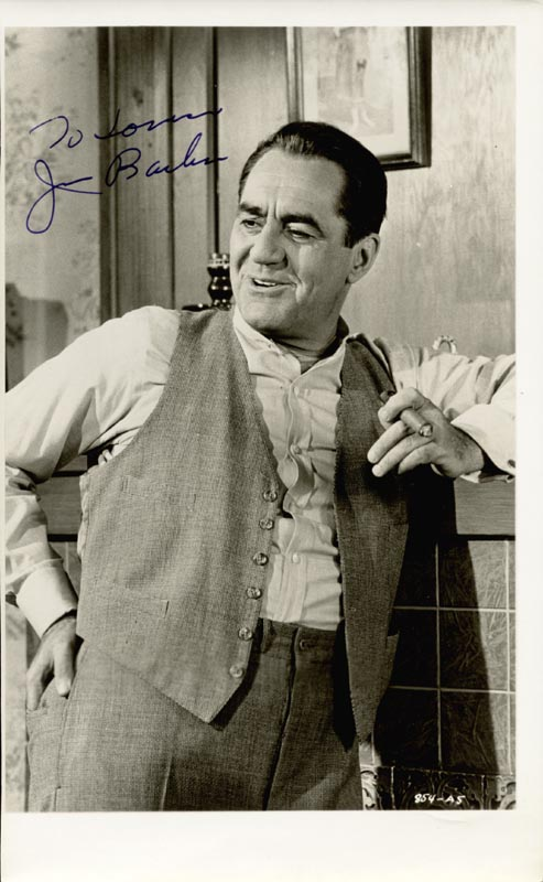 Image 1 for Jim Backus - Autographed Inscribed Photograph - HFSID 159254