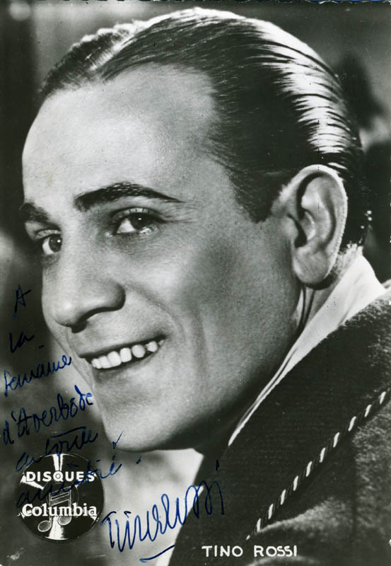 Image 1 for Tino Rossi - Autographed Signed Photograph - HFSID 159274