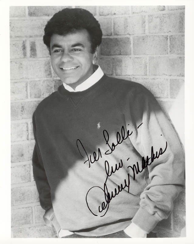 Image 1 for Johnny Mathis - Autographed Inscribed Photograph - HFSID 159364
