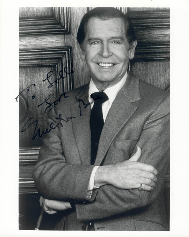 Image 1 for Milton Berle - Autographed Inscribed Photograph - HFSID 159371