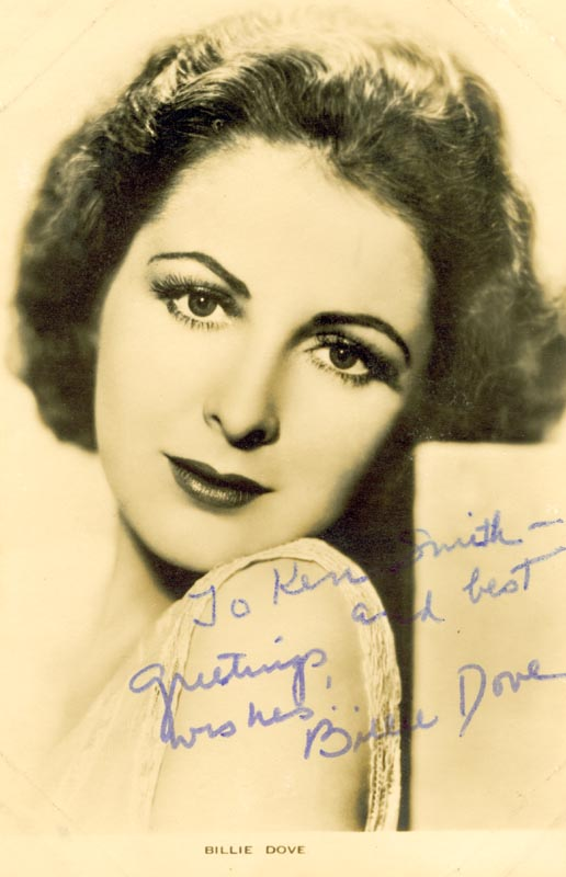 Image 1 for Billie Dove - Autographed Inscribed Photograph - HFSID 159484