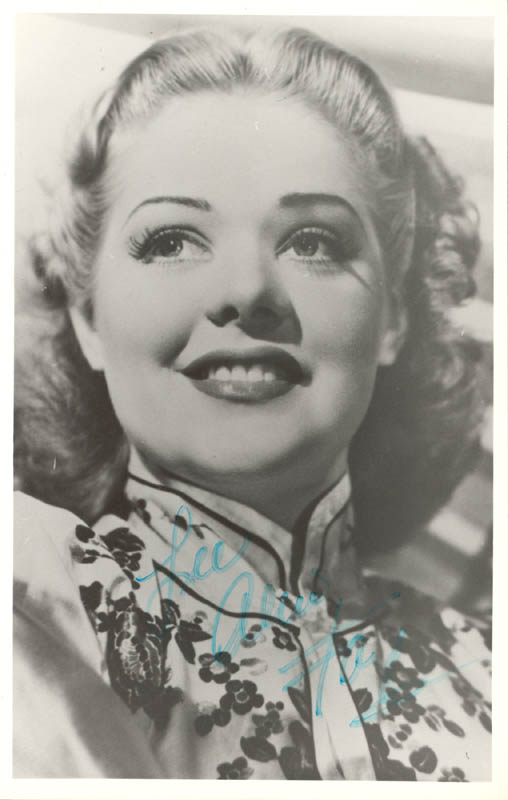 Image 1 for Alice Faye - Autographed Inscribed Photograph - HFSID 159537