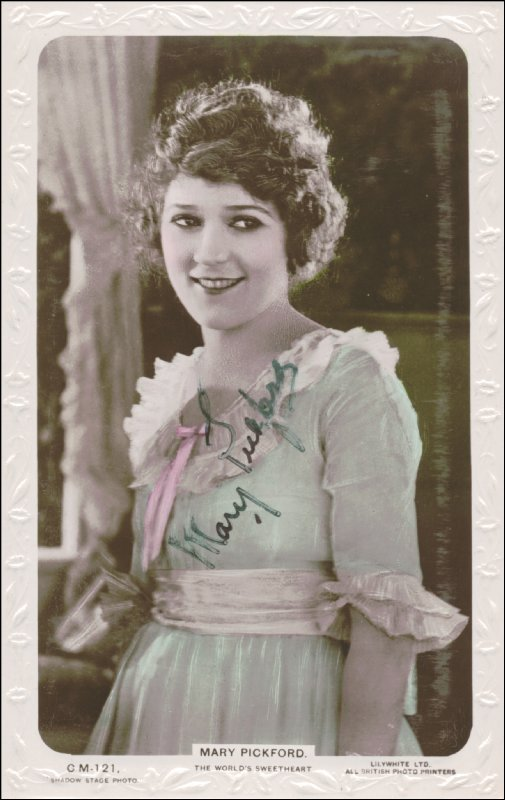 Image 1 for Mary Pickford - Picture Post Card Signed - HFSID 159592