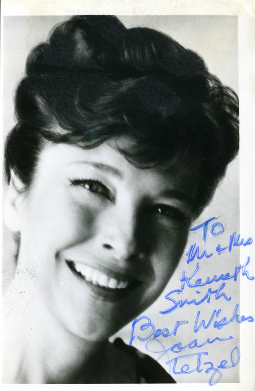 Image 1 for Joan Tetzel - Autographed Inscribed Photograph - HFSID 159604