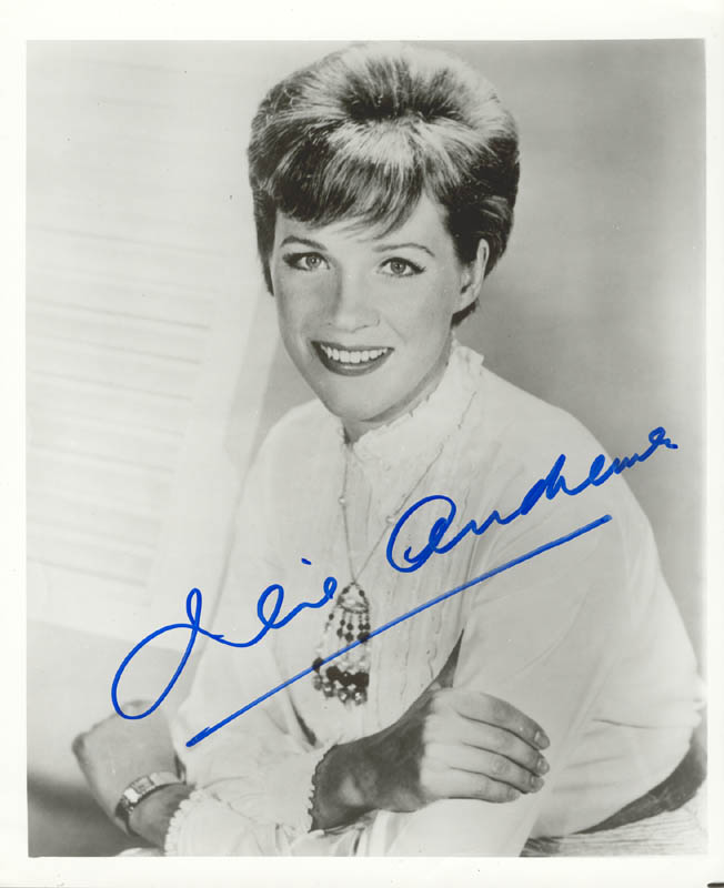 Image 1 for Julie Andrews - Autographed Signed Photograph - HFSID 159705