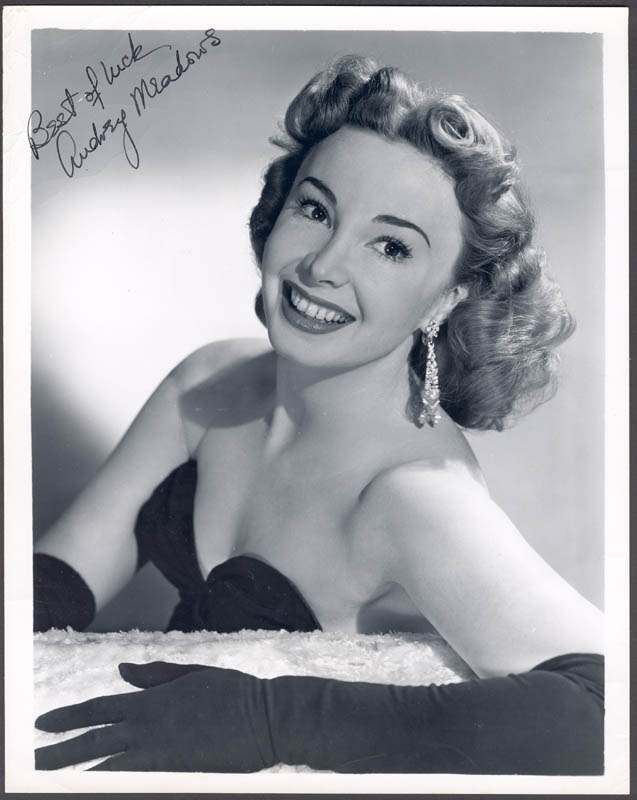 Image 1 for Audrey Meadows - Autographed Signed Photograph - HFSID 159707